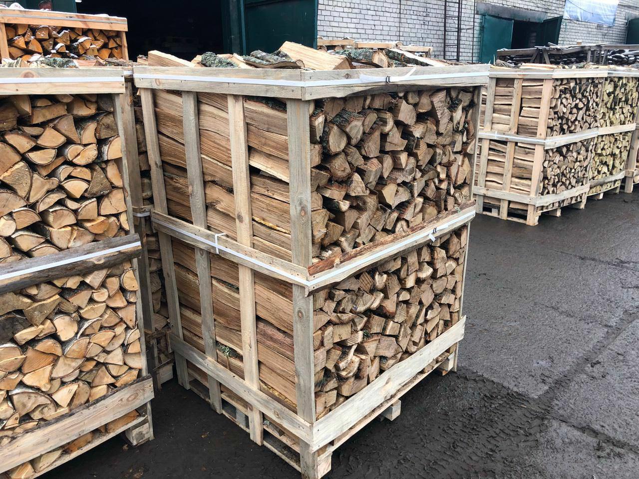 Березовые дрова подходят для бани